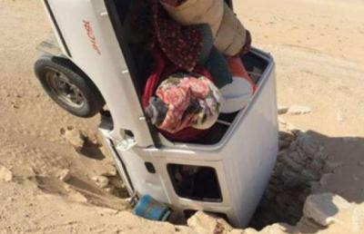 سعودی عر ب میں صحرائی کنویں میں گاڑی گرنے سے باپ ،بیٹا زخمی ہو گئے