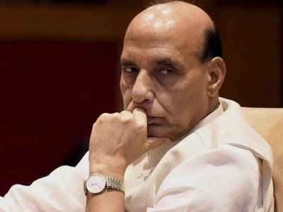 """انڈین وزیر داخلہ کو 'گارڈ آف آنر """" دینے سے انکار"""