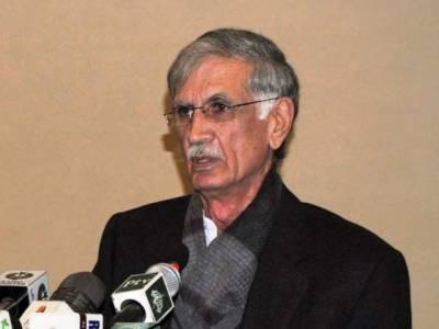 وزیراعلیٰ پرویزخٹک نے پشاور ریپڈ بس ٹرانزٹ منصوبے کا افتتاح کر دیا