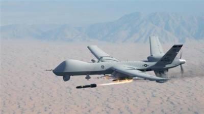 پاک افغان سرحد کے قریب ڈرون حملہ، 4 دہشت گرد ہلاک