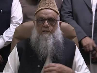 بھارت کو پاکستان کی نگرانی سونپنے کی امریکی خواہش قابل مذمت ہے : پروفیسر ساجد میر