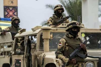 مصر،پولیس اور دہشتگردوں میں لڑائی 35اہلکار ہلاک