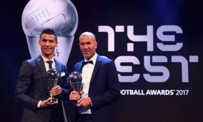 رونالڈو نے فیفا کے بہترین فٹبالر کا اعزاز اپنے نام کر لیا