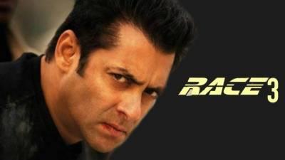 سلمان خان نے فلم ''ریس 3'' کی عکسبندی ابوظہبی میں شروع کر دی