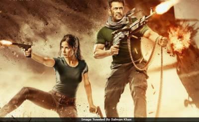 """سلما ن خان کی فلم """"ٹائیگر زندہ ہے """" کا دوسرا پوسڑ سامنے آگیا"""