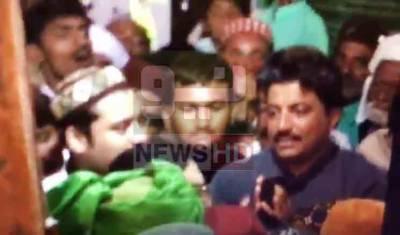 بہاؤالدین زکریا کا عرس، شاہ محمود کے بھائی کی عقیدت مند پر تھپڑوں کی بارش