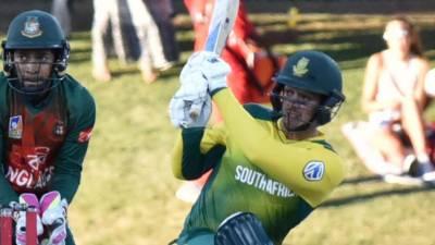 جنوبی افریقہ نے پہلے ٹی 20 میچ میں بنگلہ دیش کو شکست دیدی
