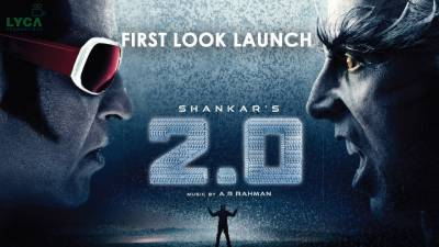 انڈیا کی تاریخ کی سب سے مہنگی فلم 2.0ریلیز کیلئے تیار