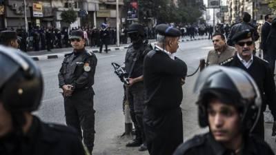 مصر پولیس کے آپریشن میں 13 دہشت گرد ہلاک