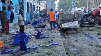 موغادیشو میں 2 دھماکوں کے نتیجے میں 13 افراد ہلاک، 16 زخمی