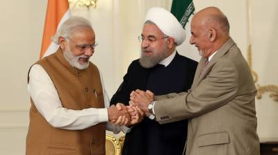 بھارت اور افغانستان کے درمیان ایران کے راستے تجارت شروع،گندم کےتحفے کی پہلی کھیپ روانہ