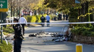 نیویارک، ٹرک سوار نے سائیکل سواروں کو کچل دیا،آٹھ افراد ہلاک