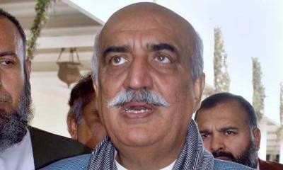 نئی حلقہ بندیوں کی آئینی ترمیم پر حکومت سینٹ کو بھی اعتماد میں لے : سید خورشید شاہ