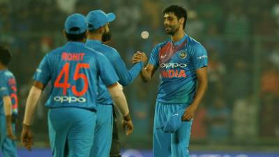 پہلا ٹی 20: بھارت کی نیوزی لینڈ کیخلاف 53رنز سے فتح
