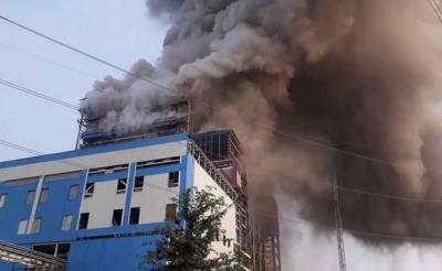 اتر پردیش کے بجلی گھر میں دھماکا،25 افراد ہلاک