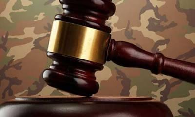 دہشتگردی کے 29 مقدمات فوجی عدالتوں کو بھیجنے کی منظوری