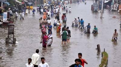 بھارتی شہر چنئی میں شدید بارشیں، ہلاکتیں 14 ہوگئیں