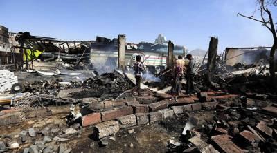 یمن میں اتحادی فوج کی بمباری، سابق صدر کا وفادار کرنل 8 ساتھیوں سمیت ہلاک