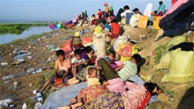 روہنگیامظالم، بے گھر بچوں کی غذائی قلت کے مسئلے کو حل کرنا ہوگا : یونیسیف