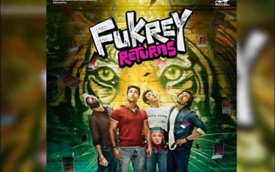 """بالی ووڈ کامیڈی فلم """"فکرے ریٹرن """" کا پوسٹر جاری"""
