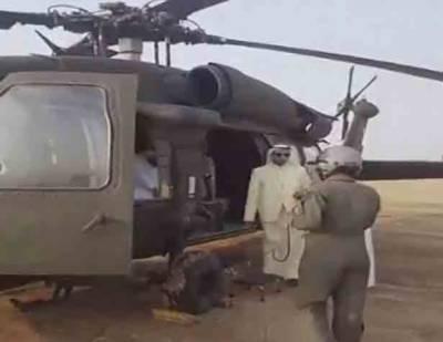 ہیلی کاپٹر حادثے میں سعودی شہزادے سمیت 8 افراد جاں بحق