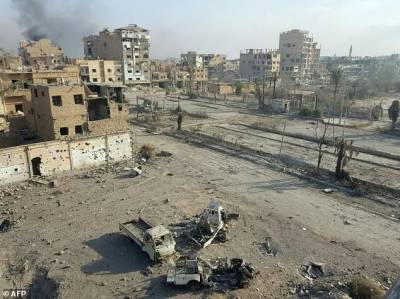 داعش کا شامی پناہ گزین کے کیمپ پر کار بم حملہ، 75 افراد ہلاک