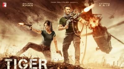 """سلمان خان کی فلم """"ٹائیگر زندہ ہے"""" کا ٹریلر آتے ہی چھا گیا"""