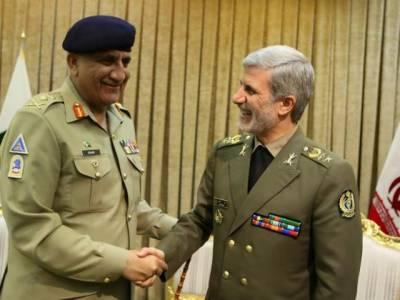 دہشت گردی کو روکنے کے لئے پاک ایران کو مل کر کوششیں کرنا ہوں گی،آرمی چیف