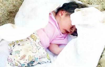 سعودی عرب زندہ درگور بچی کی حالت بہتر ، ہسپتال ذرائع