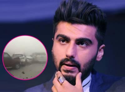 ارجن کپور نےحادثےکی د ل دہلا دینے والی ویڈیو شئیر کر دی