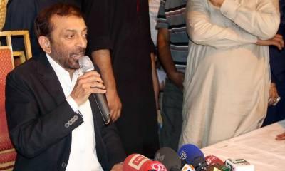 فاروق ستار نے پارٹی اور سیاست چھوڑنے کا فیصلہ واپس لے لیا