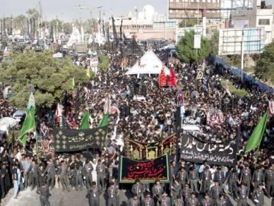 ملک بھر میں چہلم شہدائے کربلا عقیدت و احترام سے منایا جا رہا ہے