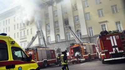 روسی خفیہ ادارے کی عمارت میں آ تشزدگی، 3 افراد ہلاک