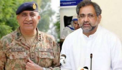پاکستان کشمیریوں کی ہر طرح سے حمایت جاری رکھے گا : شاہد خاقان عباسی