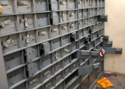 بھارت میں چوروں نے سرنگ کھود کر بینک لوٹ لیا