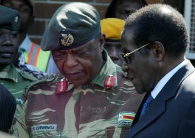 زمبابوے،آرمی چیف کی دھمکی کےبعد دارالحکومت کے باہر ٹینک پہنچ گئے