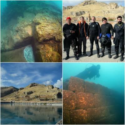 ترکی میں 3 ہزار سال پرانا زیر زمین قلعہ دریافت