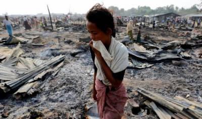 میانمار کی فوج مسلمانوں کو زندہ جلانے اور گلے کا ٹنے میں ملوث ہے
