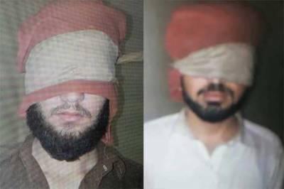 پشاور، 2 دہشتگرد بارودی مواد سمیت گرفتار