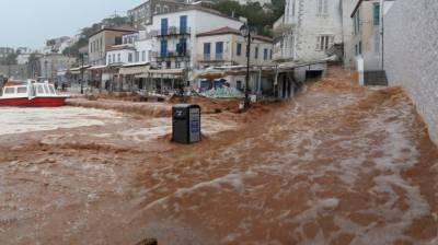 یونان میں شدید بارشوں اور سیلاب سے 15 افراد ہلاک