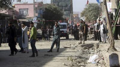 کابل میں ہوٹل کے باہر خودکش حملہ، پولیس اہلکاروں سمیت 18 افراد ہلاک