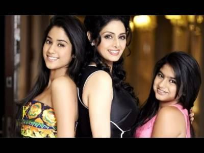 سری دیوی کی بیٹی نے بھی فلم انڈسٹری میں قدم رکھ دیا