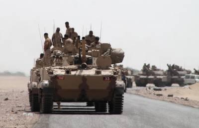 یمن میں حکومتی فورسز کی دارالحکومت صنعاءکے نواحی ضلع ارحب کی جانب پیش قدمی