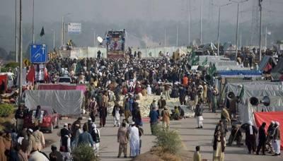 اسلام آباد، دھرنا ختم کرانے کیلئے مزید48 گھنٹے کی مہلت