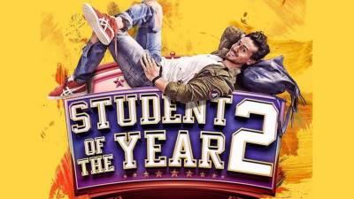 """فلم """"سٹوڈنٹ آف دی ائیر 2""""کا پہلا پوسٹر جاری"""
