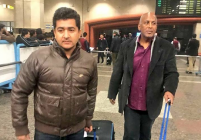 نامور امریکی بیس بال کوچ جار ج سینٹیاگو لاہور پہنچ گئے