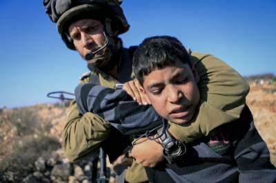 اسرائیل کی جیلوں میں 100 فلسطینی بچے قید