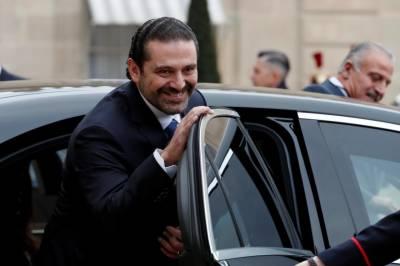 لبنان کے مستعفی وزیراعظم سعدحریری اپنے وطن واپس پہنچ گئے