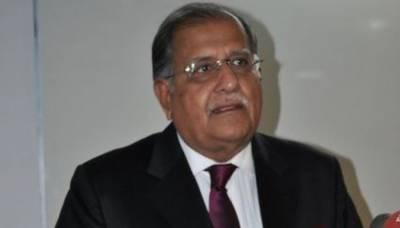 وزیر خزانہ کو مفرور قرار دئیے جانے سے پہلے استعفیٰ دے دینا چاہیے تھا : ریاض پیرزادہ