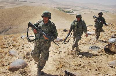 افغان سیکورٹی فورسز کی زمینی اور فضائی کاروائیوں میں5 پاکستانیوں سمیت داعش کے 17 جنگجو ہلاک